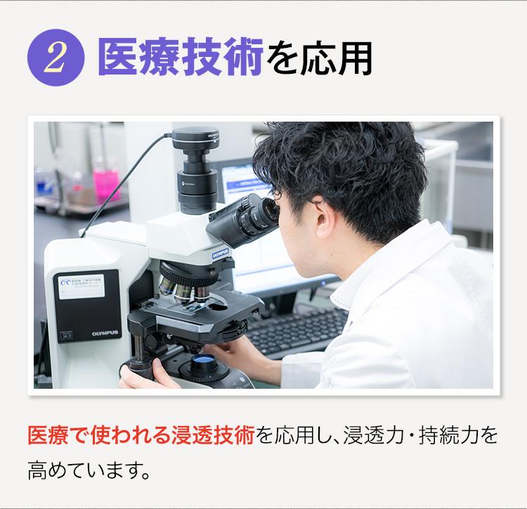 医療技術を応用
